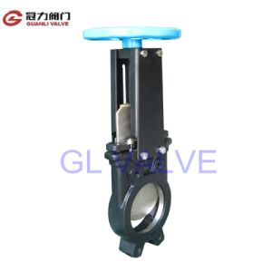 Ductile Iron Knife Gate Valve with Non-Rising Stem pictures & photos