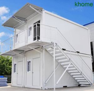 Double Story 4 Units Container House for Scenic Spots pictures & photos