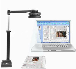 5.0mega USB Portable Book A3 Document Camera Scanner (S500A3B) pictures & photos