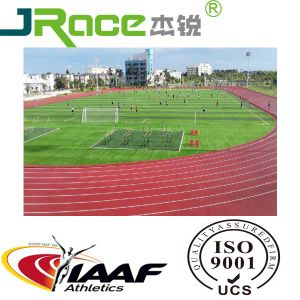 Sandwiched Running Track/Runway/Athletic Track/Racetrack for Sports Stadium pictures & photos