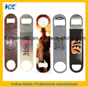 Custom Stainless Steel Bar Blade Bottle Opener pictures & photos