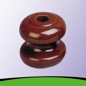 Glazed Porcelain Shackle Insulator for Low Voltage (1617/1618) pictures & photos