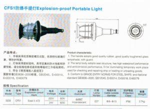 Cfs1 Explosion-Proof Portable Light