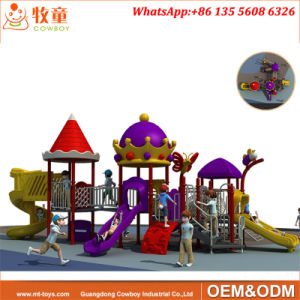 Kids Play Set Outdoor Playground Equipment Plastic Slides From China pictures & photos