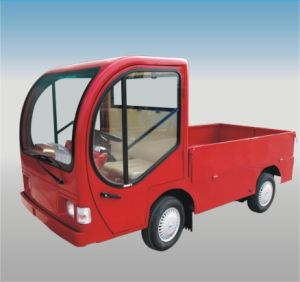 Electric Industrial Vehicle with Cab pictures & photos