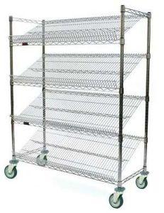Slant Wire Shelves Carts (SM-FS14)