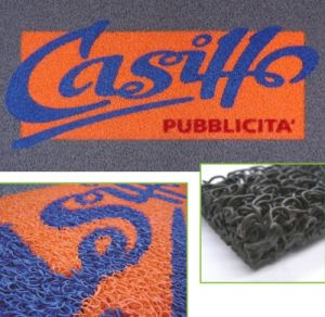 PVC Door Mat with Pattern Inlayed pictures & photos
