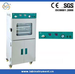 Vacuum Drying Oven with Vacuum Pump and Program Control System pictures & photos