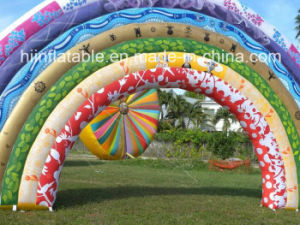 Magic Colorful Inflatable Arch/Lighting Arch/Event Decoration/Square Decoration pictures & photos