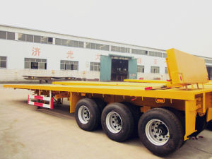 Best Selling Flatbed Semi Trailer, Truck Trailer (CTY7950) pictures & photos