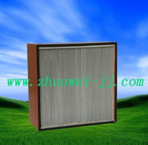 HS Deep Pleat HEPA Air Filter pictures & photos