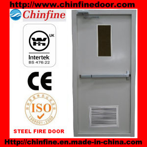 Steel Fire Door with Louver (CF-F005) pictures & photos