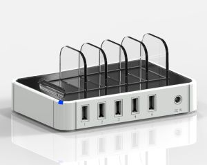5 Ports Quick Charger 5V/2.4A Charging Station pictures & photos