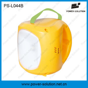 Portable Lithium-Ion Rechargeable Solar Battery LED Solar Light with Phone Charging pictures & photos