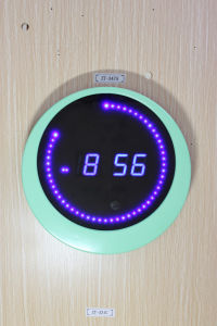 Novelty Digital LED Light Clock (ZT-048C) pictures & photos