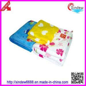 Printed Coral Fleece Blanket (xdb-015) pictures & photos