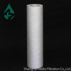 Microgroove PP Melt Blown Filter Cartridge (small line) pictures & photos