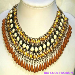 Gemstone Beaded Fashion America Hot Sale Necklace Jewelry pictures & photos