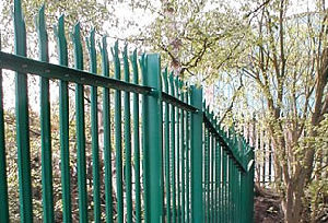 Galvanized Palisade Fencing (Various Colors)
