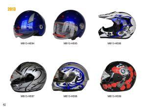 Various Motorcycle Helmets (PP/ABS materail)