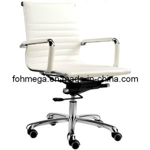 Medium Back White Eamse Chair Swivel Office Chair (FOH-MF11-B09) pictures & photos