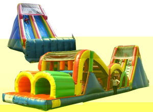 Inflatable Obstacle Game for Kids and Adults (OC-016)