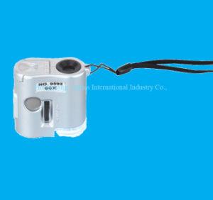 60X Mini Pocket Microscope (9592) pictures & photos