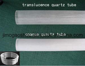 Milky White Quartz Tube Silica Tube pictures & photos