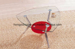 Multifunctional Tea Table with Glass on Top pictures & photos