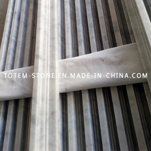 Design Marble Border, White Marble Moulding Stone Line pictures & photos