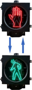 LED Traffic Signal Light (SR300-3-ZGSM-1) pictures & photos