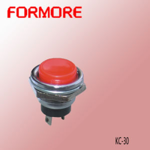 Round Push Button Switch/Metal Push Button Switch pictures & photos