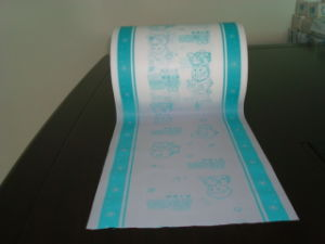 Embossing Printing Film for Back Sheet of Diapers