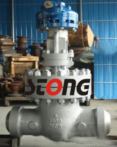 API ANSI Class1500 Bolted Bonnet Cast Steel Gate Valve pictures & photos