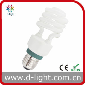 Semi Spiral Energy Saving Mini Lamp (15W) pictures & photos
