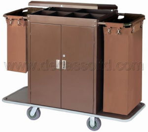 Hotel Housekeeping Cart (DD31) pictures & photos