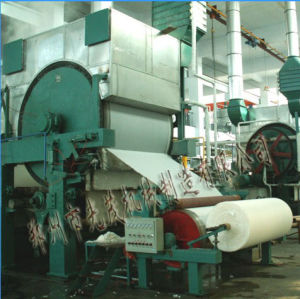 787mm Single Dryer Can &Single Cylinder Mould Tissue Paper Machine pictures & photos