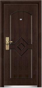 Steel Wooden Armored Door (YF-G9018) pictures & photos