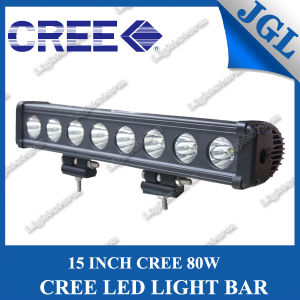 4X4 15 Inch 80W CREE LED Bar Light pictures & photos