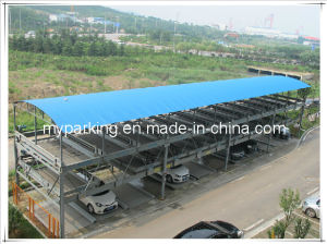 Three Level Steel Structure Lift Sliding Car Parking System