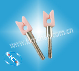 Textile Machinaey Yarn Wire Thread Ceramic Guide with Screw pictures & photos