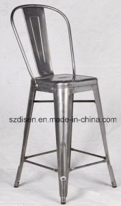Metal Tolix Barstool with High Backrest (DS-M87) pictures & photos