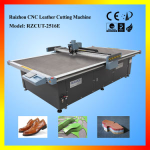 Ce Certificated Ruizhou CNC Leather Cutting Machine Rzcut5-2516s pictures & photos