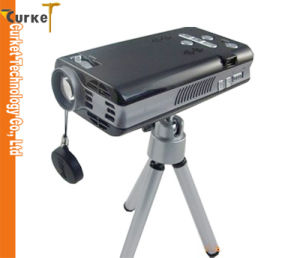 LED Mini Projector Multimedia 3m Projector (PJR-001) Eyeclops Mini Projector for House Theater 1080p LCD Projector Screen