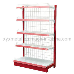 Wooden Wall Mounted Rack Shelf for Supermarket or Retail Shop (SJ-055) pictures & photos