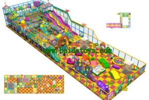 Children Indoor Playground System (BD-G772)