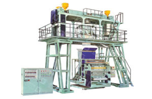 Multi-Layer Co-Extrusion Water Cooling Polypropylene Film Blowing Machine for CPP pictures & photos