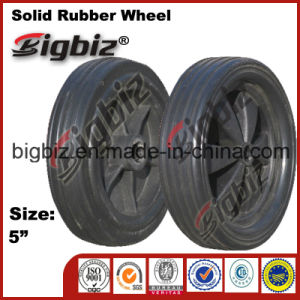 """5"""" Soft Rubber Wheel Caster for Sale pictures & photos"""