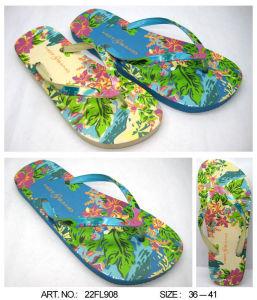 Beach Slippers PE/PVC/TPR/EVA Sandal Shoes Flip Flop (22FL908) pictures & photos
