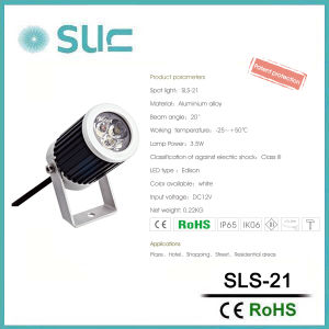 New Style 3W Aluminium Alloy Waterproof LED Spot Light pictures & photos